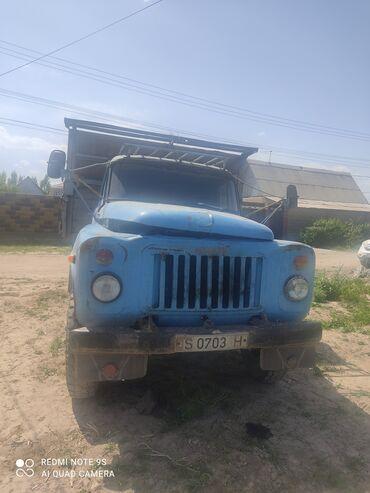 шины для грузовиков в Кыргызстан: Газ-53, шины новые, все работает, состояние хорошее