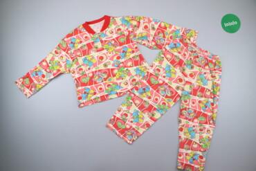 Дитяча піжама з яскравим принтом (лонгслів та штани)    Лонгслів Довжи