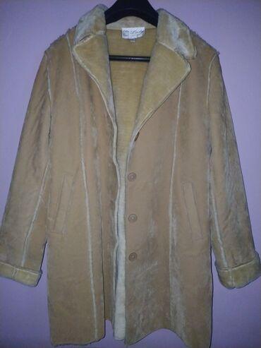Παλτό, καστορ ύφασμα με γούνα από μέσα σε άριστη κατάσταση