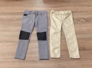 Helanke farmerke - Srbija: H&M za devojcice br98 (2-3god) pantalone helanke farmerke sa