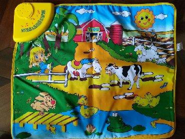 столовая для кукол в Азербайджан: Музыкальный развивающий коврик для малышей в идеальном состоянии