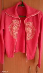 Roze pamuk - Srbija: Presladak dzemper,50% pamuk,50% acrilic,skoro nov,prelepa roze boja