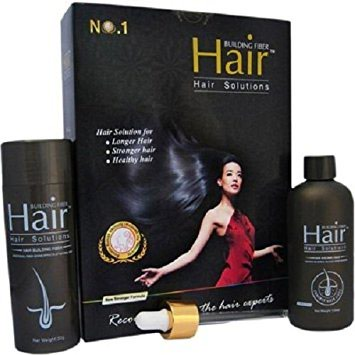 Hair Building Fiber,Keratin fibers cling to existing hair and, in