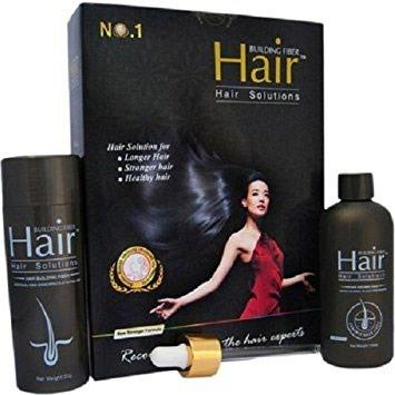 Personal Items - Kathmandu: Hair Building Fiber,Keratin fibers cling to existing hair and, in