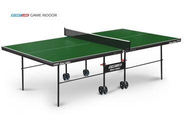 купить теннисный стол в Кыргызстан: Теннисный стол start line game indoor с сеткой green 6031-3версия