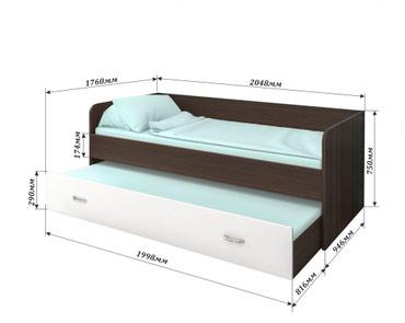 Кровать с видвижными ящиками в Бишкек