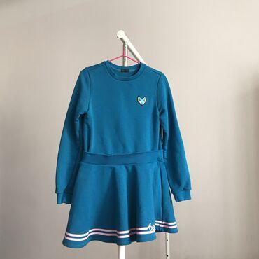 Фирменное детское платье Benetton, тёплое, качество отличное, состояни