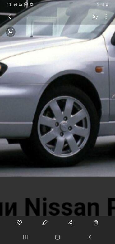ниссан куб 2003 в Ак-Джол: Диски обмен р16 менаю на р15 птдойдеть на Хонда акорд Ниссан примера