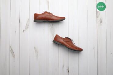 Мужская обувь - Украина: Чоловічі черевики Bugatti, р. 43    Довжина підошви: 31 см   Стан: дуж