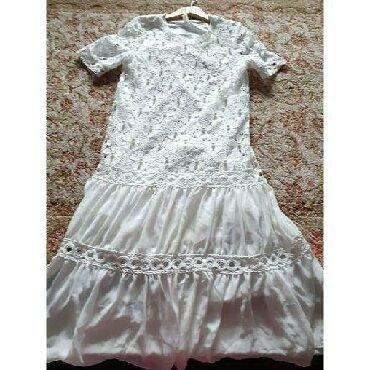 Хочу продать новое платьеБелоснежно белого цветаЕсть подкладка поэтому