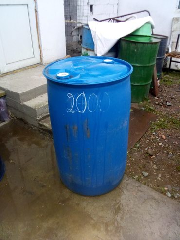 Бочка плассмасывый 220 литр пищевой 1750 в Бишкек