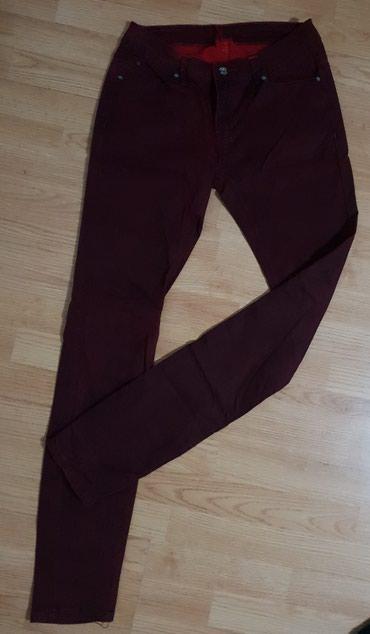 Zenske pantalone 2 PARA uracunata u cenu, bordo i teget plave - Loznica