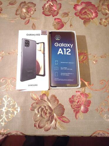 265 elan: Samsung Galaxy A12 | 32 GB | Qara | Zəmanət