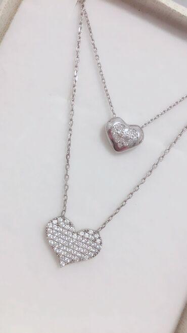 Personalni proizvodi - Cacak: Ogrlice sa srcimaCena i jedne i druge odvojeno je po 2500dinSrebro 925