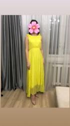 Женская одежда в Бактуу-Долоноту: Продаю платье  Шифон натуральный Размер 44-46 Цена 1600