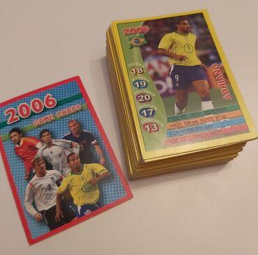 62 (35 Διαφορετικές) Κάρτες παγκοσμίου κυπέλλου 2006 + 15 αυτοκόλλητα