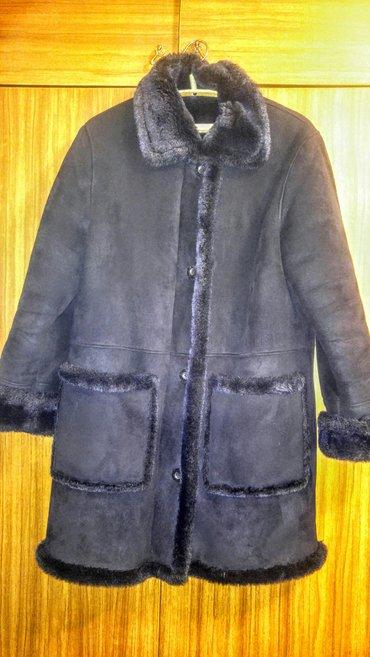 дублёнку женскую в Кыргызстан: Продаю дубленку женскую размер- 44-46+ утепленная кепка в подарок