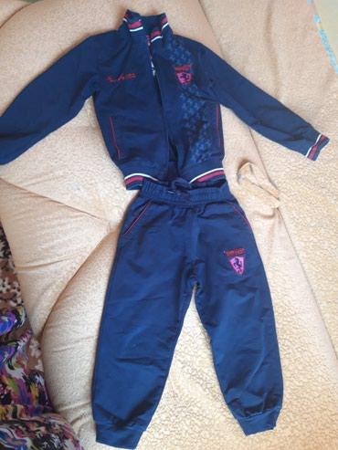 Детский спорт.костюм турция.б/у примерно 2-3года.цена 300 в Бишкек