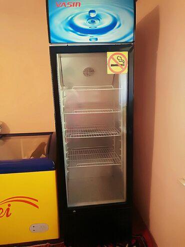 stolovye-pribory-bez-nozha в Кыргызстан: Б/у Синий холодильник