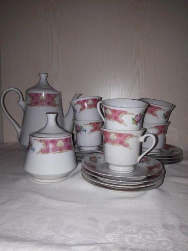 чашка с блюдцем в Кыргызстан: Столово-чайный сервис. производство Китай. очень хорошего качества. не