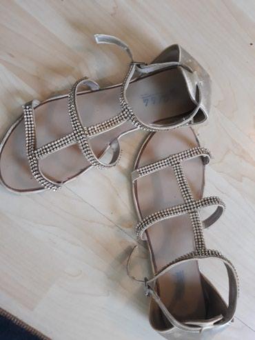 Zlatne sandale sa cirkonima u broju 40. - Belgrade