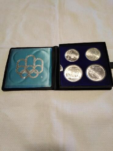 Inflatorni novac - Srbija: Komplet srebrni novac. Kolekcionarstvo. Olimpijski kovani novac