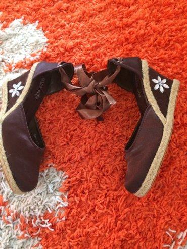 Ženska obuća | Jagodina: Nove sandala - cipela sa vezivanjem oko noge 37 br,veci je kalup
