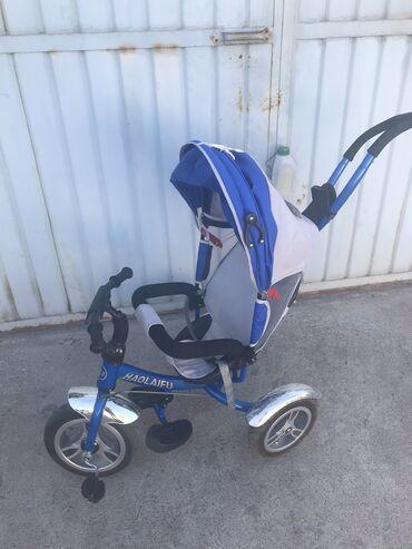 детский трехколесный в Кыргызстан: Продаю детские трехколесные велосипеды в хорошем состоянии.У синего