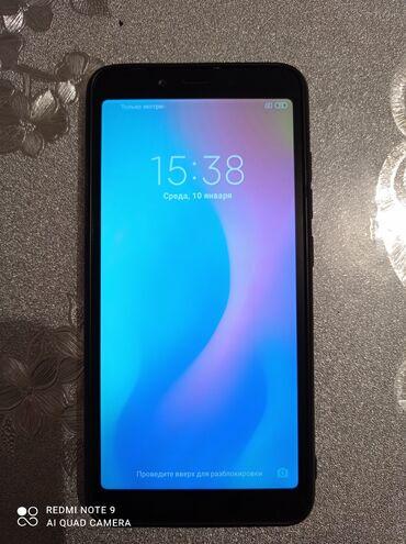Колдонулган Xiaomi Redmi 6A 32 GB кара