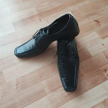 Muske cipele - Srbija: Safran muske kozne cipele, vel. 46