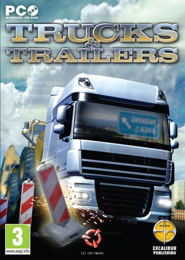 Pc igra trucks & trailers (2011) - Beograd