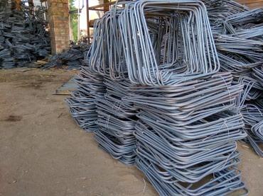 хомуты в Кыргызстан: Продаем хомуты для арматурного каркаса от завода производителя из 6 мм