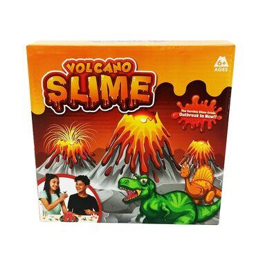 Слайм вулкан.  Создайте с ребенком настоящий вулкан!!  Новый набор сде