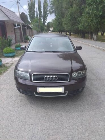 Audi в Кыргызстан: Audi A4 1.8 л. 2002 | 231697 км