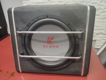 динамики в Кыргызстан: Продаю сабвуфер фирмы - KLANG. 25мм . В хорошем состоянии. Проверка у