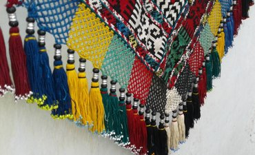 Уголок-панно. Полностью ручная вышивка. в Душанбе - фото 3