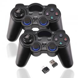 2 Pcs 2.4G Wireless Game Controller Gamepad Joystick for PS3 Android σε Athens