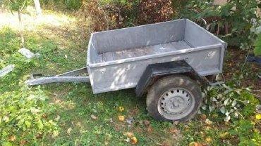 Auto prikolice - Srbija: Prodajem polovnu a renoviranu auto prikolicu u solidnom i očuvanom