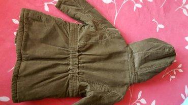 Jakna  braon decija somot jakna sa vunom unutra  novo - Pozarevac - slika 6