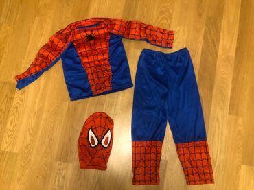Костюм Spider man . 4-5 лет. Он новый но без бирки . ребёнку