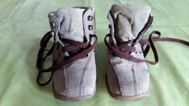 Cipele za dečake br.25 (nosene i vide se oštecenja na slikama i zato - Petrovac na Mlavi