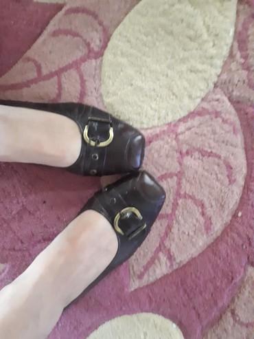 Pre cipelice broj - Srbija: Prelepe braon kozne cipelice sa malom petom.Broj 40