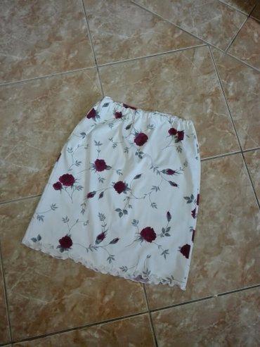 Personalni proizvodi | Jagodina: Suknja belavel. M. Radtegljiva,bela,uz telo. Extra. šaljem brzom