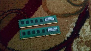 8 Gb DDR3 RAM - 1600 Mhz  2x4 Gb  Watsapp aktivdir