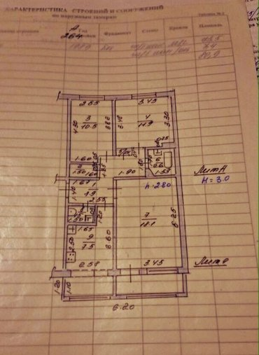 СРОЧНО!!! Продам 3-х комнатную квартиру по адресу: Гоголя, 24 (Токтогу в Бишкек