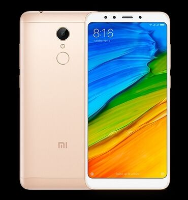 Сотовый телефон lenovo - Кыргызстан: Б/у Xiaomi Redmi 5 Plus 64 ГБ Черный
