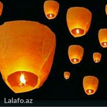 Bakı şəhərində Niyyət balonu