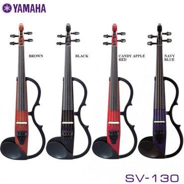 Скрипка:Электроскрипка yamaha sv130 понравится музыкантам любого