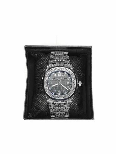 реплику patek philippe в Кыргызстан: Часы patek Philippe Металлический круглый корпус Кварцевый часовой