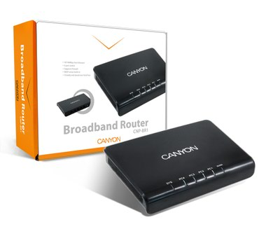 o-router в Кыргызстан: HUB Switch Canyon CNP-BR1 Broadband Router-новыйМаршрутизатор Canyon